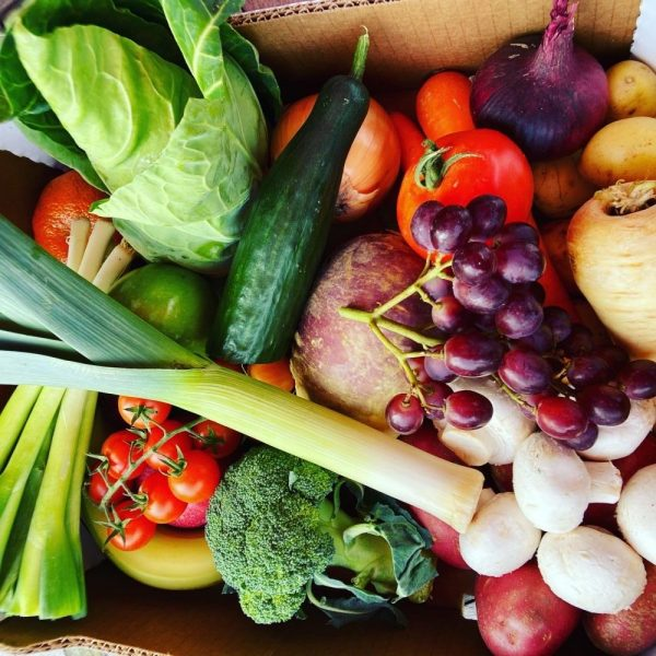 Mixed Box for One Person (Fruit & Veg)